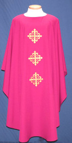 Easy Care Embroidered Chasuble 2020