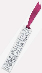 """3.5"""" X 3/4"""" Stainless """"First Communion Day"""" Bookmarks.  Choose for a  """"Special Girl"""" or """"Special Boy"""".  Burgundy satin ribbon is attached."""