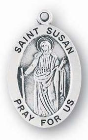 Saint Susan Medal - Patron Saint of People Forced into Exile
