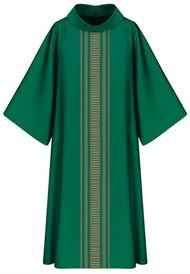 Dalmatic, 3111 in Green Brugia, 100% Wool