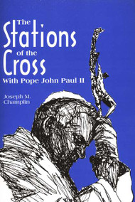 Popular author Father Joseph Champlin adapts the Stations of the Cross from the ones used by Pope John Paul II at the Roman Colosseum on Good Friday, 1991. There are 15 stations, including the Resurrection. Based on the events in the Gospels, each station is accompanied by specific Gospel readings. Each of the prayer responses is taken from a portion of the Psalms. Father Champlin includes new stations, in addition to some of the traditional ones. Perfect for use with prayer groups. Paperback.