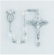 Crystal Butterfly Rosary 8350