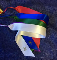 """Ribbon Replacments for Roman Missal Altar Size, 5 Color 14"""""""