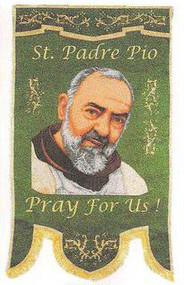 Saint Padre Pio Processional Banner