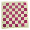 "Marion's Roll Up Value Vinyl Chess Board - Pink & Cream - 2 1/4"" Squares"