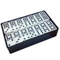 Domino Double Nine White in Arcadian Black Box