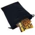 Domino Double Gold  in Velvet Bag