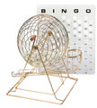 Bingo Set Deluxe with Ping Pong Balls