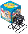 Bingo Set  Small with colored Bingo Balls, Bingo Cards and Masterboard