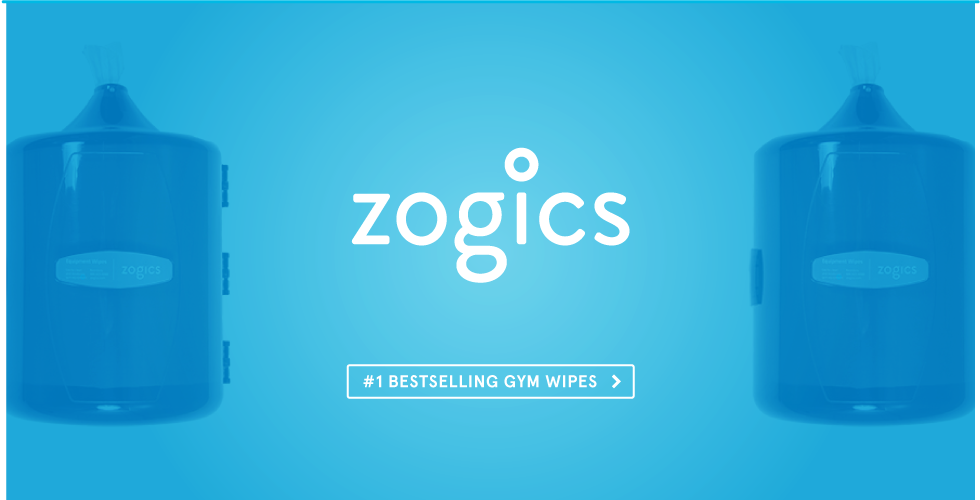 Shop Zogics Gym Equipment Wipes and Dispensers