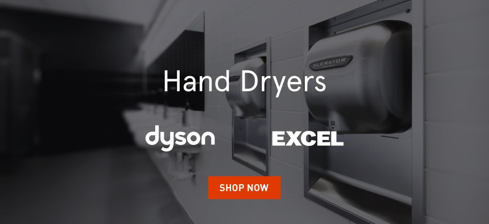 Excel & Dyson Hand Dryers