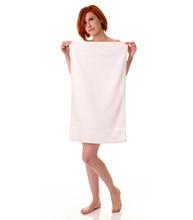 16 X 27 Gym Towel, 200A Series, White