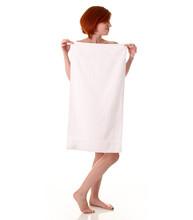 16x30 Gym Towel, 450A Series, White