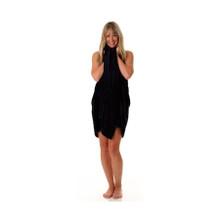 32x66 Pool Towel, Black, 200A Series, 18.5lb (200A-PT-Solid-Black)