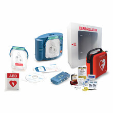 Philips HeartStart OnSite AED Defibrillator Bundle + First Aid Only CPR Kit (M5066A-CPRKit-Bundle)