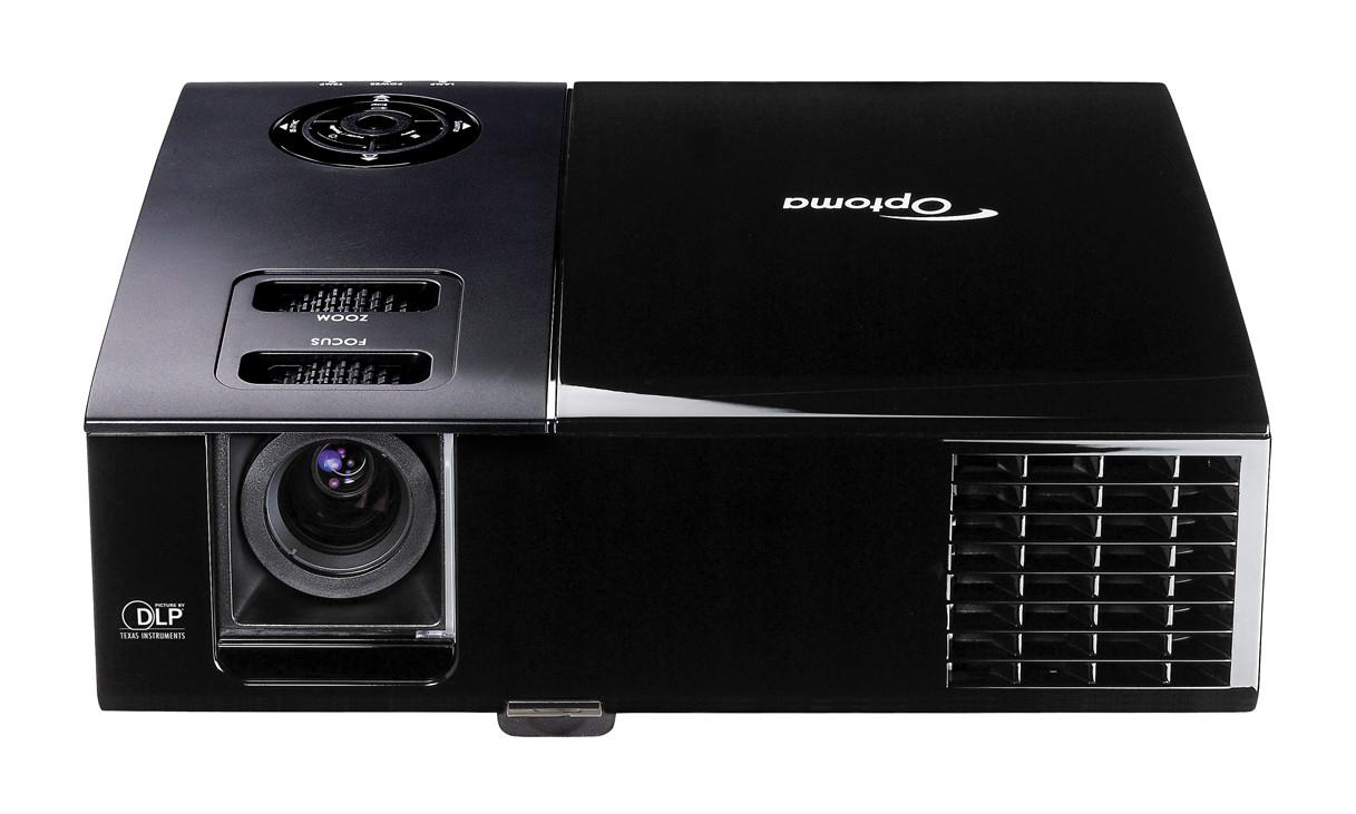 Refurbished optoma ep761 dlp portable digital projector for Best portable digital projector