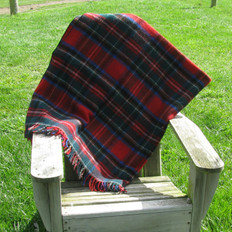 Town & Country 'Royal Stewart' Wool Picnic Rug/Throw