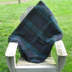 Town & Country 'Black Watch' Wool Tartan Picnic Rug
