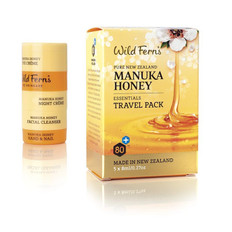 Wild Ferns Manuka Honey Essentials Travel Pack