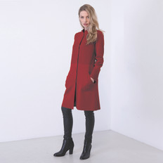 Optimum Textured Merino Wool Coat