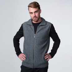 Possumdown Merino - Possum Lightweight Zip Vest