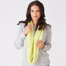 Royal Merino Diamond Infinity Scarf