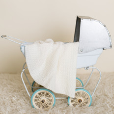 Tudor Knits Circular  Heirloom Merino Baby Shawl