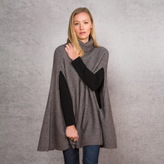 Noble Wilde Moss Stitch Poncho
