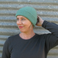 Noble Wilde Women Possum & Merino Double Layer Beanie