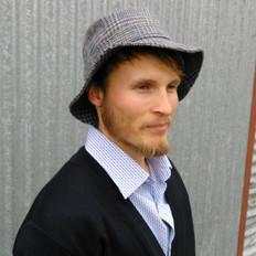 Hills Hats - English Wool Tweed Bucket Hat