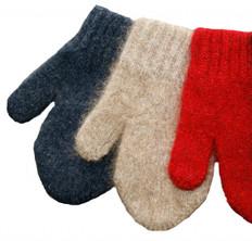 Cosy Kiwi Merino Wool and Possum Fur Mittens