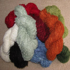 Mohair and Merino Wool Knitting Yarn