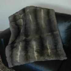 'Collezione' 12 Skin Possum Fur Throw