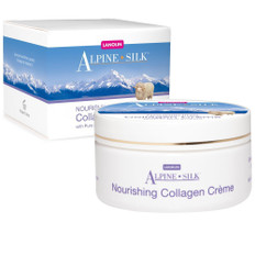 Alpine Silk Lanolin and Collagen Creme 100 gm