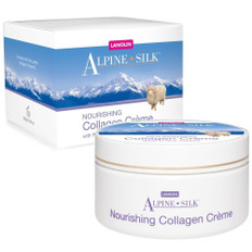 Alpine Silk Nourishing Lanolin and Collagen Creme 250 gm