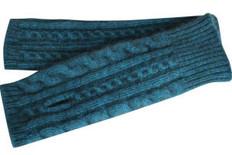Koru Cabled Merino - Possum Glovelets