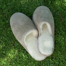 SheepskinZ Soft Sole Sheepskin Scuff