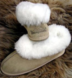SheepskinZ 'Paddy'  Unisex  Sheepskin Slipper