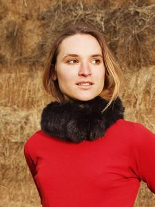 Four Peaks Possum Fur 'Pom Pom' Neck Wrap