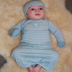 Fernz Superfine Merino Wool Babies Gown