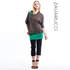 Zavarucci Capri 3/4 Stretch Pants