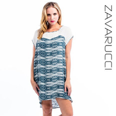 Zavarucci Oversized Shift Dress