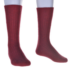 McDonald Merino - Possum - Ribbed Socks