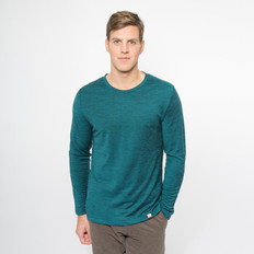 Noble Wilde Merino 'Yale' Striped Crew Neck Top