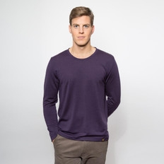 Noble Wilde Merino 'Yale' Crew Neck Top