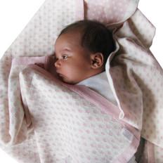 Country Laine Merino Wool Baby Blanket