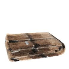 'Windermere' Brushed Natural Alpaca  Throw - Canterbury Check