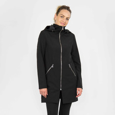 Moke Long Detachable Hooded Softshell Jacket