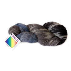 Merino - Possum 4 Ply Painted Yarn -  Southern Alps