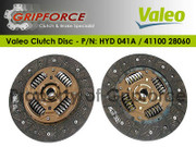 Hyundai OE OEM Valeo Clutch Disc Plate Fits 1996-2008 Elantra Tiburon 1.8L 2.0L